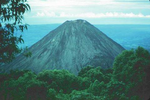 Virtual Flight Around A Volcano