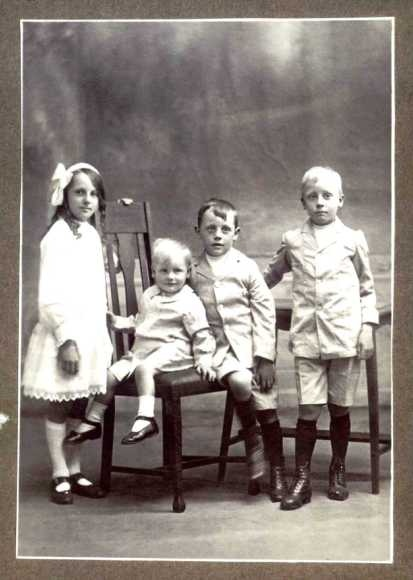 My siblings - early 20th century