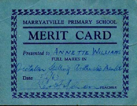 Another primary school certificate