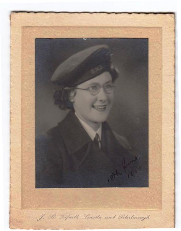 My introduction to the WRNS